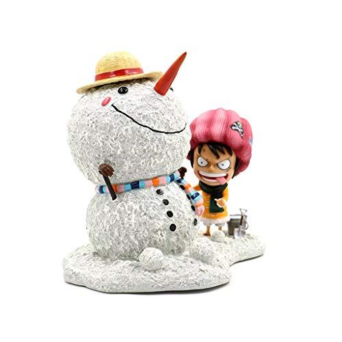 One Piece-Schnee-Szene Monkey D. Ruffy Action-Figur