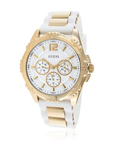 Guess Damen-Armbanduhr Analog Quarz Kautschuk W0325L2