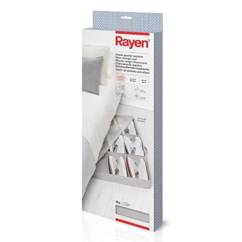 Rayen Funda Guarda-Zapatos, Gris, Medidas: 90 x 50 x 10,5 cm