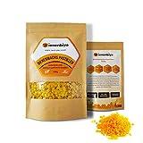 Bienenbiya® 100% Reine Bienenwachs Pastillen ohne Zusatzstoffe, 200g natürliches Bio Beeswax für...
