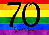 70 Guest Book: 104 Pages - Paperback - 8.25 x 6 Inches (Party Guest Book) (Volume 55) [並行輸入品]