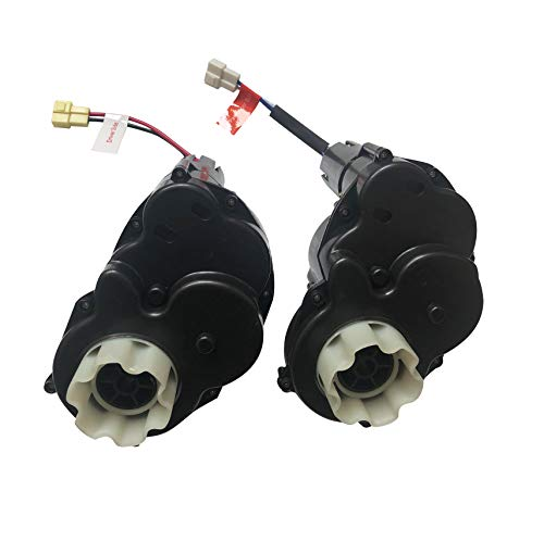 RAYMONT Pair of Gearbox 12 Volt Motor for Kid Trax Kids Ride On Power Car Wheels Dodge Police Car Ram 3500 Dually VW Beetle Mercedes ML Marvel Halk UTV