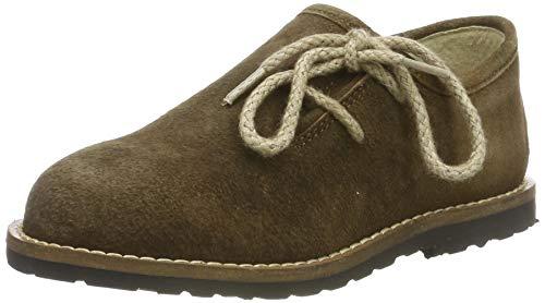 Stockerpoint Jungen Schuh 3399 Brogues, Braun (Havanna Gespeckt), 35 EU