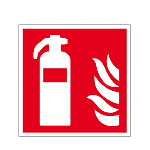 Feuerlöscher - Schild Kunststoff ISO 200 x 200 mm