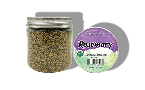 Well's Herb / 24 Kinds/Perfect for Herbal Hair Infused Oil/Edible Herbs (Rosemary)