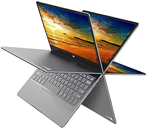 BMAX PC Portatile 11,6 Pollici Windows 10 Convertibile Notebook, Intel N4100 8GB RAM +256 GB SSD, Dual band WIFI, BT 4.2