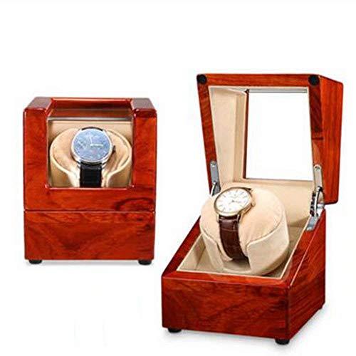 GFF Holz Schütteltisch ist automatische mechanische Uhr Patrone Aufbewahrungskoffer für Haushalt Drehzahlmesser einzigen Tisch-18x18x19cm