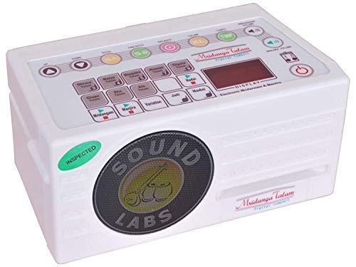 Sound Labs Mridanga Talam Compact, Elektronisches Mridangam, Manjira