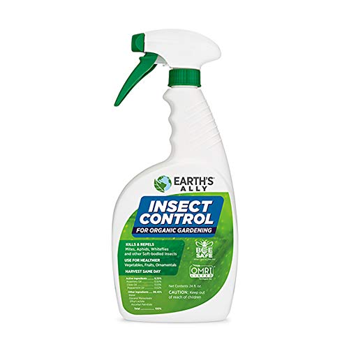 Earth's Ally Insect Control Spray | 24 fl. oz. Ready-to-Use | Safe Insecticide for Garden | Pet Safe | Bee Safe
