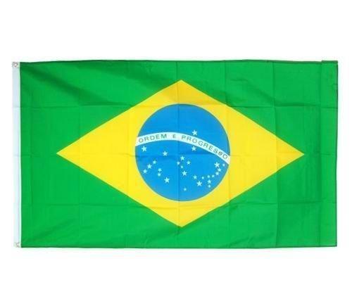 Fahne 90 x 150cm | BRASILIEN | mit Ösen Flagge Fahne Flaggen Fahnen zum Hissen