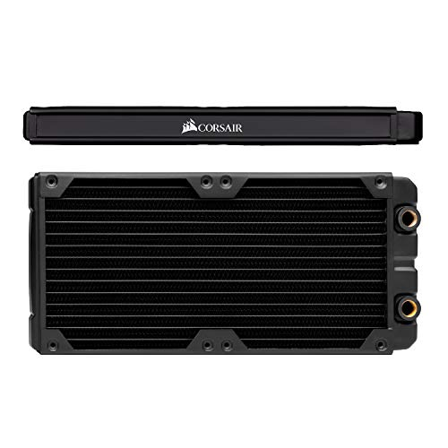 Corsair Hydro X Series XR5 280mm Water Cooling Radiator, Black,CX-9031002-WW