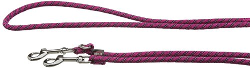 Trixie 14612 Sporty Rope V~Leine, S–M: 2,00 m/ø 8 mm, fuchsia