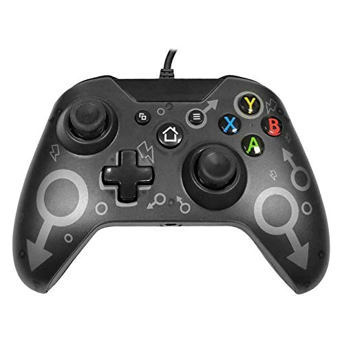 Kabelgebundener Controller Gamepad für Xbox One, Xbox One S, Xbox One X, Xbox Series X,Windows PC Controller mit Dual-Vibration