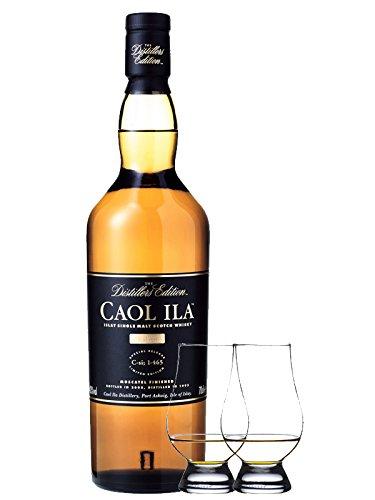 Caol Ila Distillers Edition Moscatel Cask Finish 0,7 Liter + 2 Glencairn Gläser