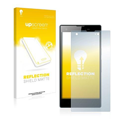 upscreen Entspiegelungs-Schutzfolie kompatibel mit Kazam Tornado 350 – Anti-Reflex Bildschirmschutz-Folie Matt