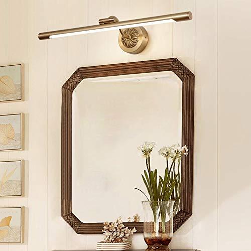 The only Good Quality Decoratie Europese stijl koperen spiegel koplamp badkamer lamp spiegelkast wandlamp Amerikaans retro badkamer badkamer wandlamp spiegellamp Villa