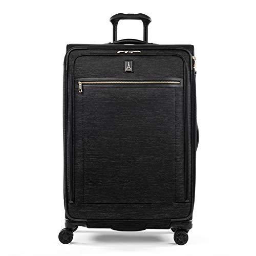 Travelpro Platinum Elite Softside Erweiterbares Spinner-Radgepäck, Intrigue Schwarz (Schwarz) - 409186941
