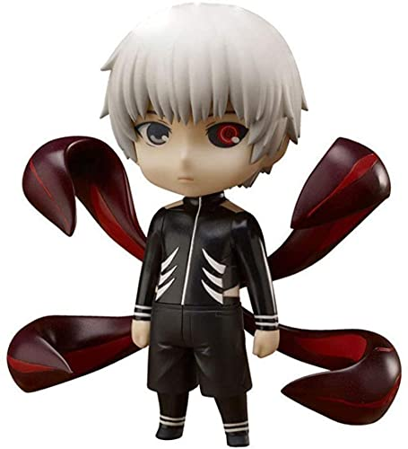 Tokio Ghoul Anime Q Edition Jin Muyan Figura Muñecas Decoraciones Versión Estatua Muñeca Escultura Juguetes Decoración Modelo Muñeca Altura 10 cm