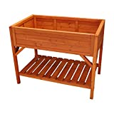 Selections Wooden Raised Herb Planter Timber Bed for Vegetables Flowers Herbs & Salad