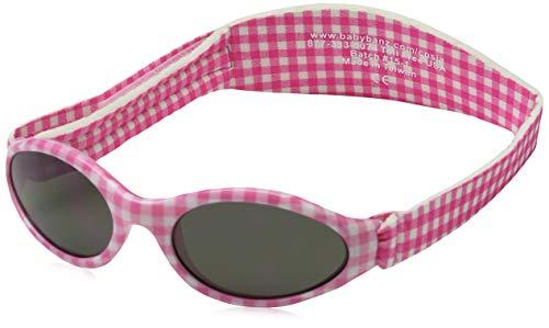 Baby Banz - Gafas de sol Ovaladas para niños, color Rosa, talla 0-2 anos