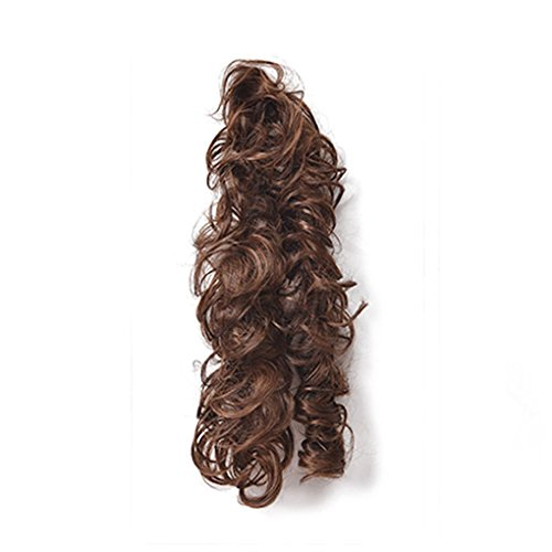 Rekkles Women Horsetail Long Hairpieces Ponytail Wavy Curly Women Hairpieces Hair Extension