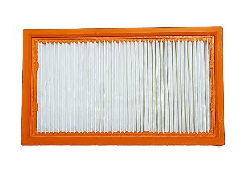 SAUGAUF Flachfaltenfilter R 283/4 passend für Kärcher: 6.904-360.0, NT 25/1, NT 30/1, NT 35/1, NT 40/1, NT 45/1, NT 50/1, NT 55/1, NT 611 Eco K