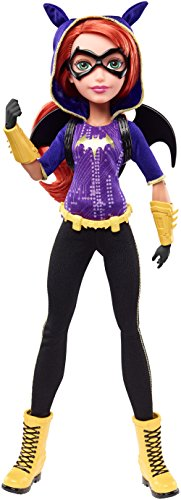 Mattel DLT64 - DC Super Hero Girls Batgirl Action Puppe, 30 cm
