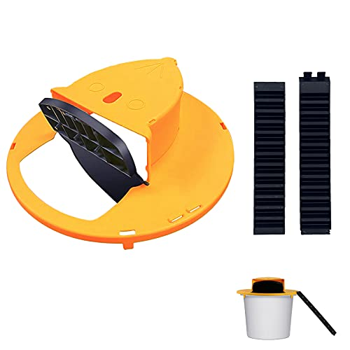 Youlong Mouse Trap with Flip and Slide Bucket Lid Mouse Trap ,Without Barrel, 5 Gallon Bucket Compatible, Rat Trap for Outdoor & Indoor