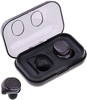 Tung bas hörlurar öronsnäckor hörlurar Snygga bärbara trådlösa hörlurar, Bluetooth 5.0 In-Ear Tws Stereo Sound Earphones H...