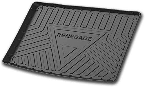 Coche Alfombrillas Maletero, para Jeep Renegade 2016-2020 Goma Alfombrillas antideslizantes Impermeable Maletero Trasero Alfombra Protection Accesorios
