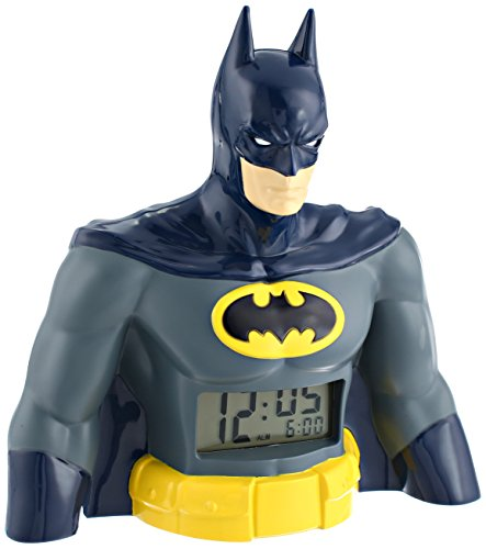 DC Comics BAT3031 – Reloj despertador con visualización digital, Batman LCD
