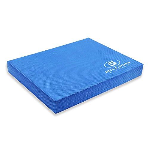 5BILLION Almohadilla de Equilibrio Balance Pad - 49cm x 39cm x 6cm - Almohadilla de Ejercicios & Equilibradora de Espuma Trainer - Cojín Oscilante para Terapia Física (Azul)
