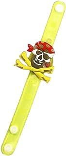 UKCOCO 1pc Wrist Band Halloween Elements Glow Kids Children Bracelet for Halloween Party (Pirate Style)
