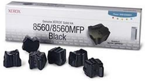 Xerox 108R00727 Solid Ink Phaser 8560//8560MFP Black Sealed Xerox Box 6 Sticks