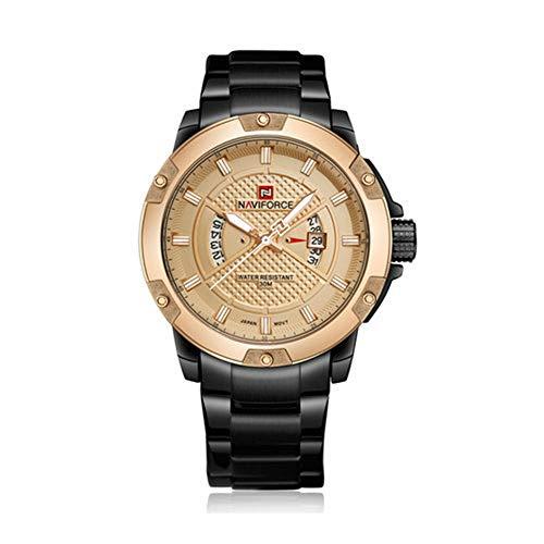 High-End Herrenuhr Top Luxusmarke Herrenuhren Herren Vollstahl Datum wasserdicht Sport Armee Militär Quarz Armbanduhr Uhr Masculino Reloj Hombre