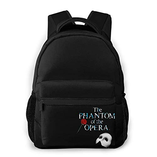 Lawenp Casual Backpack The Phantom of The Opera 2 Casual Backpack,Backpack Gift for Men and Women,Multifunctional Backpack,Laptop Backpack