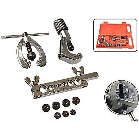 10 Teiliges Set Bördelwerkzeug Für Bremsleitung 90 Bördel E Bördel Und F Bördel Baumarkt