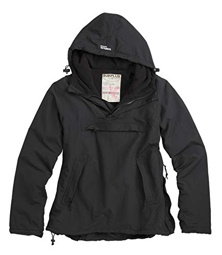 Surplus Raw Vinage Ladies Windbreaker; schwarz, S