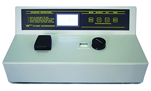 Vision Scientific VLS002 Spectrophotometer 335 to 1000nm,Spectral Bandwidth 10nm,Wavelength accurracy ± 2nm