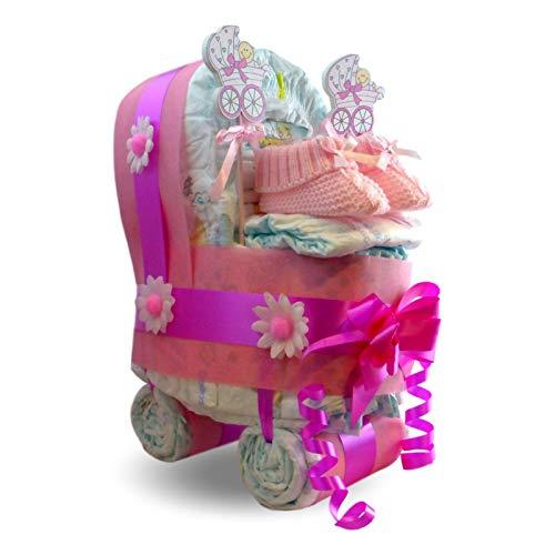 Windeltorte Kinderwagen Für Mädchen