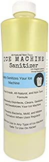 Ice Machine Sanitizer 16 oz, Nickel-Safe, Non-Toxic, Ice Machine Cleaner, Universal Ice Maker Cleaner, Compatible With Affresh/Whirlpool 4396808, Manitowac, Ice-O-Matic Ice Makers