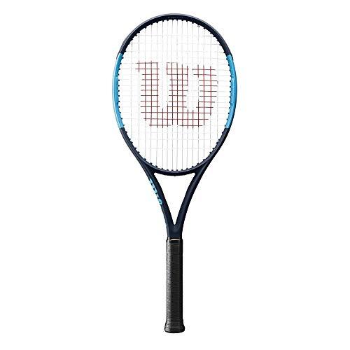 Wilson Raqueta de tenis, Ultra 100L Black Edition, Grafito,...
