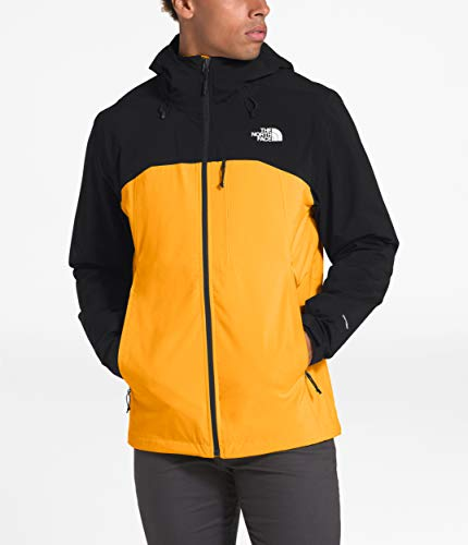 The North Face Men's Thermoball Triclimate Jacket, TNF Yellow/TNF Black, M