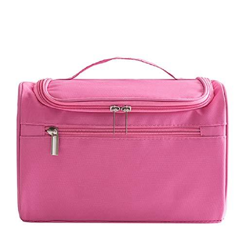 Grande capacité de Lavage Voyage Portable Maquillage étanche mâle et Femelle Sac de Rangement cosmétique Simple Multifonctionnel FANJIANI (Color : Pink)