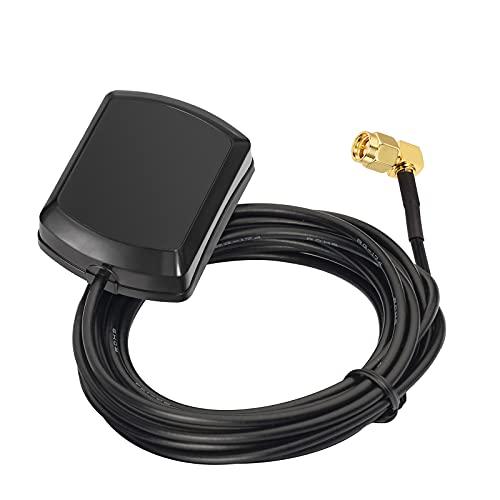 Eightwood GPS Antenna SMA Antenna GPS con Estensione cavo 3m per Sistema di navigazione GPS Ricevitori GPS Antenna GPS Tracking Ricevitore di navigazione GPS