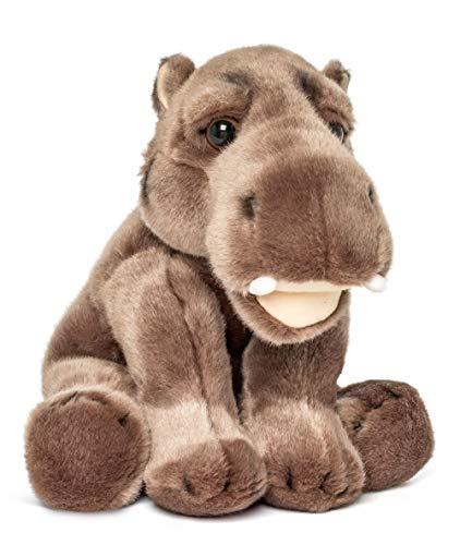 Wildlife Tree 9 Inch Stuffed Hippopotamus Plush Floppy Animal Kingdom Collection