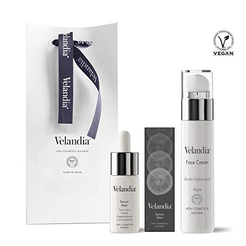 Pack Cosmética Man (2ref.) Velandia® Crema facial 50 ml. - Serum Man 30 ml.