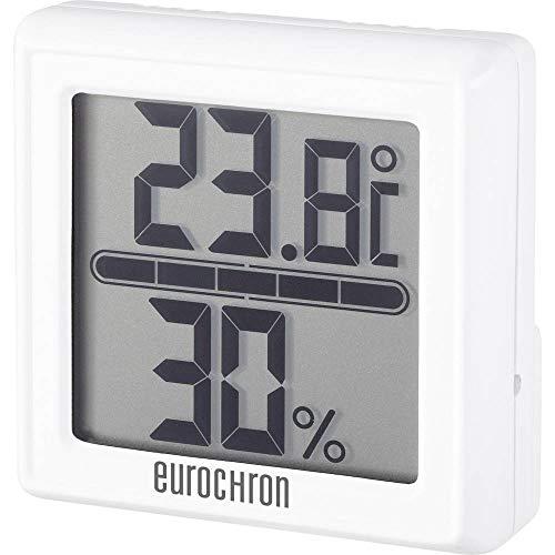 Thermo-hygromètre Eurochron ETH 5500 blanc