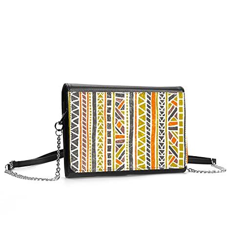 Bolso cruzado con símbolos egipcios antiguos para mujer, correa ajustable, estilo clásico, bolso de hombro, con múltiples bolsillos con ranuras para tarjetas