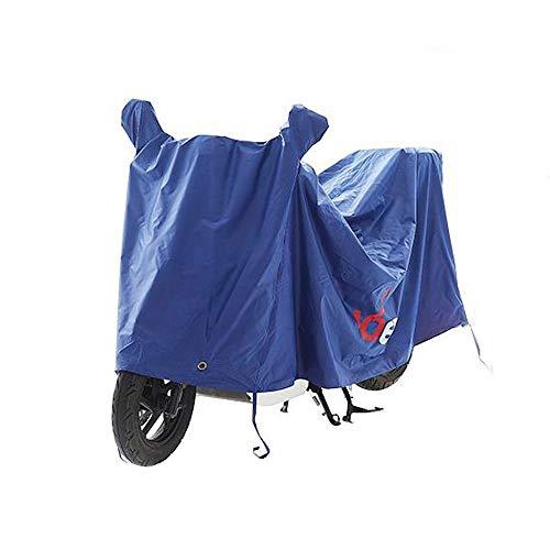 M-YN Vélo Housse étanche de Stockage extérieur de vélos Heavy Duty Ripstop Attrayant avec Serrure Trou (Color : Blue)